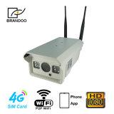 appareil-photo d'IP de la carte SIM 4G en dehors d'appareil-photo de télévision en circuit fermé de l'appareil-photo IR avec l'enregistrement