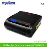 Inversor modificado 500va~2000va 12VDC 230VAC da onda de seno da modalidade 87% da bateria