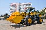 Sinomach cargador Gz996 de la rueda del material de construcción de 9 toneladas y de la maquinaria móvil de tierra para la venta