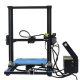 2018 3D Aluminium van de Uitrusting van de Druk van Printer DIY Semi Geassembleerde met Verwarmd Bed met 1Kg Gloeidraad + 8GB Lezer van de Kaart van BR + Broeikas 300X300X400mm van PLA
