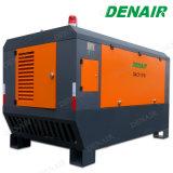compressor de ar lubrific estacionário conduzido diesel do parafuso do estilo 600cfm