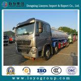 Caminhão de tanque do petróleo de Sinotruk HOWO T5g 8X4 com capacidade 25000L