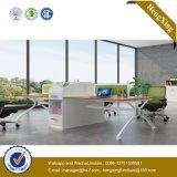 Forniture di ufficio moderne del piedino del metallo della scrivania (UL-NM105)