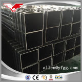 아프리카 최신 판매 Ss400 까만 사각 및 직사각형 빈 단면도 강철 관