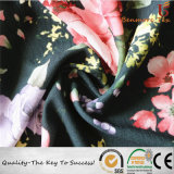 100% بوليستر [75د] [شفّون] يطبع زهرات لأنّ نساء ثوب بناء