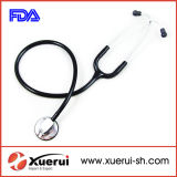 Tête simple stéthoscope, stéthoscope Médical de luxe