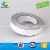 Double bande de papier dégrossie blanche de tissu (DTS513)