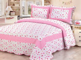 Настраиваемые Prewashed прочного удобные кровати стеганая 1-х покрывалами Coverlet для 64