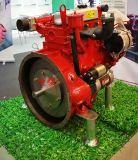 Motor diesel naturalmente aspirado de 3 cilindros para la bomba de agua
