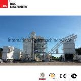 Planta de mistura modelo do asfalto Dg3000 240t/H para a construção de estradas