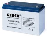 Batería de ciclo profundo de la batería de UPS Sistema Solar batería de Gel 12V 100Ah con ciclos de 1500