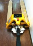 Тележка паллета Walkie миниая Semi электрическая 1.5t 1500kg Semi электрическая
