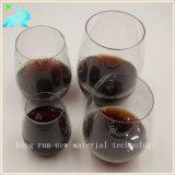 O volume barato plástico dos vidros de vinho ajustou-se para a venda