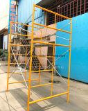 Steiger van het Frame van de V.S. van de Installatie van de Bouwconstructie van de Ladder van de Stap van de Stijl van de veiligheid de Europese Gemakkelijke voor High-Rise Gebouwen