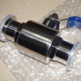 Aço inoxidável sanitárias Pneumática de válvula de borboleta eléctrica