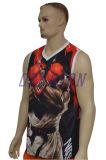 Maglietta giro collo su ordinazione della traversa del Mens di nuova di modo di ginnastica della maglia ginnastica all'ingrosso dello spazio in bianco