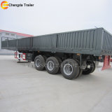 Rimorchio del camion del carico del comitato di parete laterale degli assi di vendita 50ton 60ton 3 della fabbrica