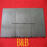 Noir résistant à l'usure plaquette en céramique de zircone