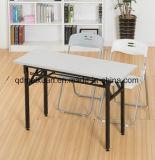 Klapptisch-rechteckige Trainings-Konferenztisch-Klapptisch-Trainings-Kursteilnehmer-Schreibtische (M-X3208)