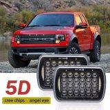 5D 천사를 달리는 일 시간은 트럭 LED 헤드라이트 5X7 7X6 LED 헤드라이트를 주목한다
