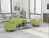 L'Europe Blcak Classic vintage mobilier métallique de trame canapé en cuir
