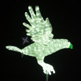 Motiv-Licht des Adler-3D wasserdicht für Feiertag und Handelsdekoration