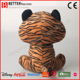 Brinquedos macios super do luxuoso do animal enchido do afago do tigre para miúdos do bebê