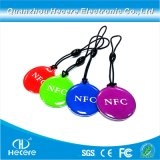 13.56MHz Ntag 213/215/216 RFID NFC Epoxidmarke NFC Keyfob