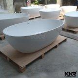Лидирующая стена качества против искусственних каменных Freestanding ванн