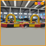 Carro de choques de carro de corrida insufláveis via para Go Kart (AQ1683-1)
