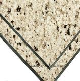 Material compuesto de aluminio de la capa del PE de Alubang