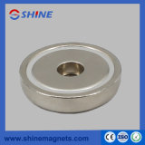 Pot Magnet with Axial Hole Rpm-B42