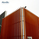 L'extérieur de l'aluminium motorisé Sun pour la construction de la façade d'aération