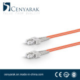 Duplex de 3 metros de cable de fibra óptica multimodo (50/125) SC a SC