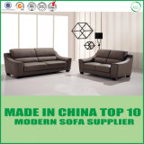 Sofá moderno del cuero de la esquina del diseño de los muebles de la sala de estar nuevo último