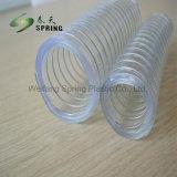 En PVC Flexible renforcé avec les fils en acier inoxydable