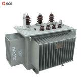 250kVA 3段階のオイルによって浸される分布の変圧器