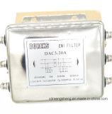 CA del filtro de paso bajo del filtro de la EMI EMC filtro emi De la entrada de información de 3 fases para el inversor