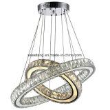 Illuminazione Pendant del lampadario a bracci a cristallo dell'interno per la decorazione