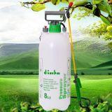Pulvérisateur en plastique de pression de jardin de l'usine 8L de la Chine