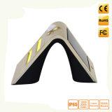 Angeschaltene Wand-Solarlampe der PIR Bewegungs-Fühler-Sicherheits-LED