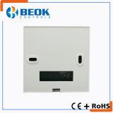 LCD verdrahteter programmierbarer Raum-Gas-Dampfkessel-Thermostat für Wasser-Heizsystem