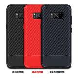 Nuova cassa del telefono della fibra TPU del carbonio per Samsung S8