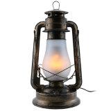 Ampoule flamboyante de cru d'éclairage de l'atmosphère
