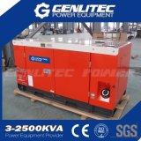 Tipo raffreddato ad acqua generatore diesel silenzioso di 10kw Kipor