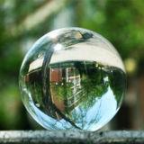 La navidad bola de cristal, bola de cristal con la clara posición