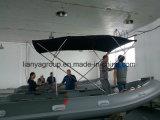 Liya 2.4-5.2m de la Chine rigide bateau bateau gonflable Sport Rib