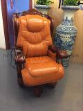 Re di lusso Throne Chair del cuoio genuino per l'esecutivo