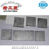 8mm et 16 mm d'épaisseur de chemise de carbure de tungstène Wear-Resistant cimenté Prix de la plaque