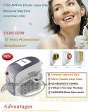 unità portatile di bellezza di rimozione dei capelli del laser del diodo 808nm della maniglia 300g